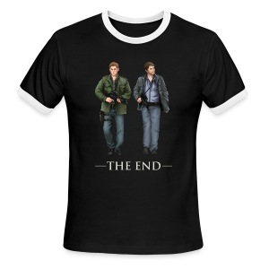 The End (DESIGN BY BRITTANY) - Men's Ringer T-Shirt