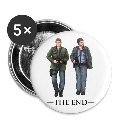 The End (DESIGN BY BRITTANY) - Large Buttons