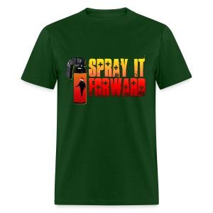 SPRAY IT FORWARD (SANTA) - Men's T-Shirt