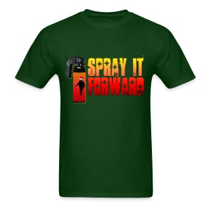 SPRAY IT FORWARD (SANTA) - Men's T-Shirt
