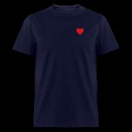 T-Shirts ~ Men's T-Shirt ~ Men's Standard Heart T-Shirt