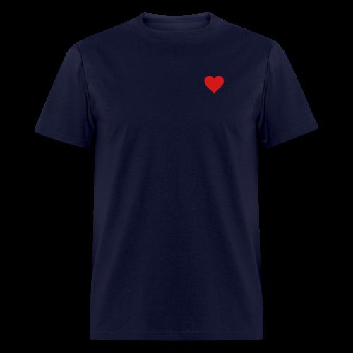 Men's Standard Heart T-Shirt  - Men's T-Shirt