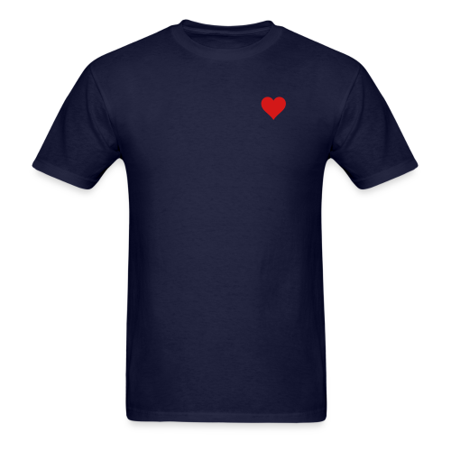 Men's Standard Heart T-Shirt  - Men's T-Shirt