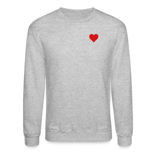 Heart Men's SweatShirt  - Crewneck Sweatshirt