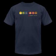 T-Shirts ~ Men's T-Shirt by American Apparel ~ LPA 4-Bit