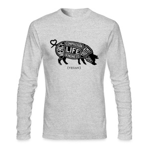 Words to Live By - American Apparel Long Sleeve - Men's Long Sleeve T-Shirt by Next Level