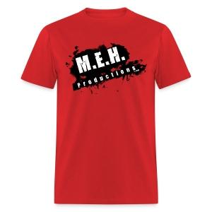 M.E.H. Productions Splatter T (Red) - Men's T-Shirt