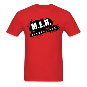 M.E.H. Productions Splatter T (Red) - Men's T-Shirt