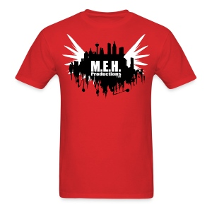 M.E.H. Productions City T (Red) - Men's T-Shirt
