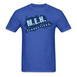 M.E.H. Productions Splatter T (Blue) - Men's T-Shirt
