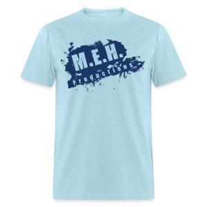 M.E.H. Productions Splatter T (Light Blue) - Men's T-Shirt