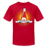 T-Shirts ~ Men's T-Shirt by American Apparel ~ Try The Ketchup (Starburst)