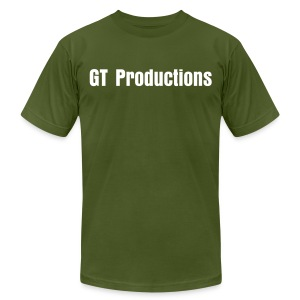 GT Productions - Men's T-Shirt by American Apparel