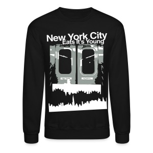 NYC EATS ITS YOUNG CREWNECK - Crewneck Sweatshirt