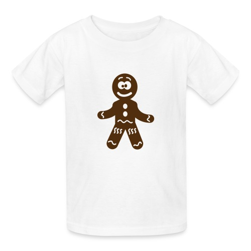 Kids Gingerbreadman Tee - Kids' T-Shirt