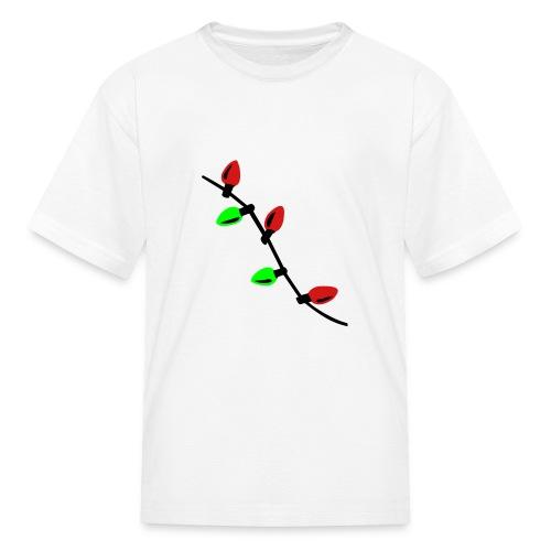 Kids Christmas lights Tee - Kids' T-Shirt