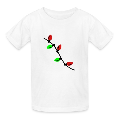 Kids Christmas lights Tee - Kids' T-Shirt