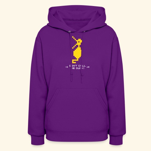 Dragonduck (free shirt color selection) - Women's Hoodie