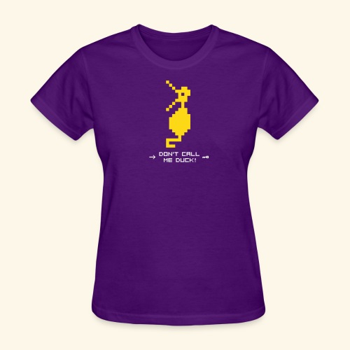 Dragonduck (free shirt color selection) - Women's T-Shirt