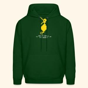 Dragonduck (free shirt color selection) - Men's Hoodie