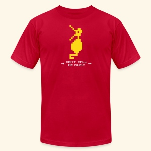 Dragonduck (free shirt color selection) - Men's T-Shirt by American Apparel