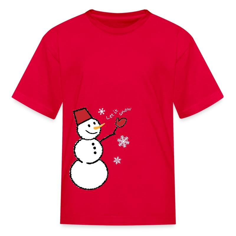 let_it_snow_whole_white01 T-Shirt