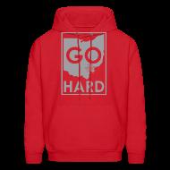 Hoodies ~ Men's Hoodie ~ GO HARD - URBAN HOOD