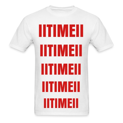 IITIMEII T-shirt RED - Men's T-Shirt