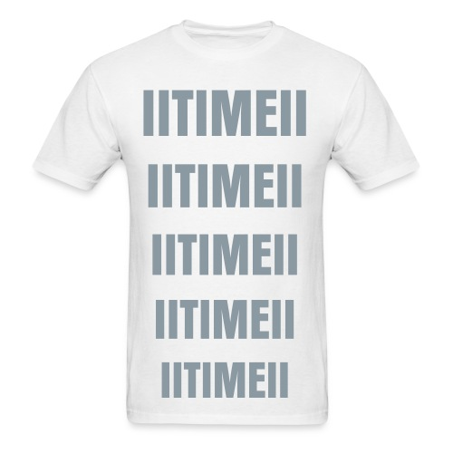 IITIMEII T-shirt METALIC SILVER - Men's T-Shirt