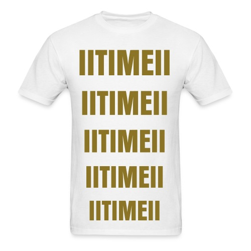 IITIMEII T-shirt METALIC GOLD - Men's T-Shirt