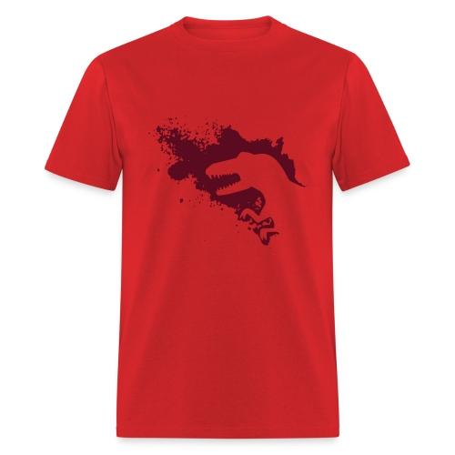 Dino Splash (manly men) - Men's T-Shirt
