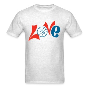 Philly Basketball Love Shirt - Men's T-Shirt