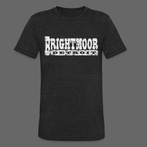 Brightmoor Detroit - Unisex Tri-Blend T-Shirt by American Apparel