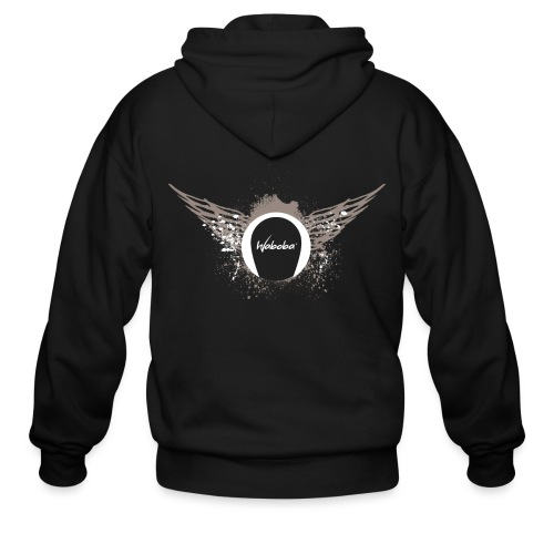 Wings in the Back - Men's Zip Hoodie