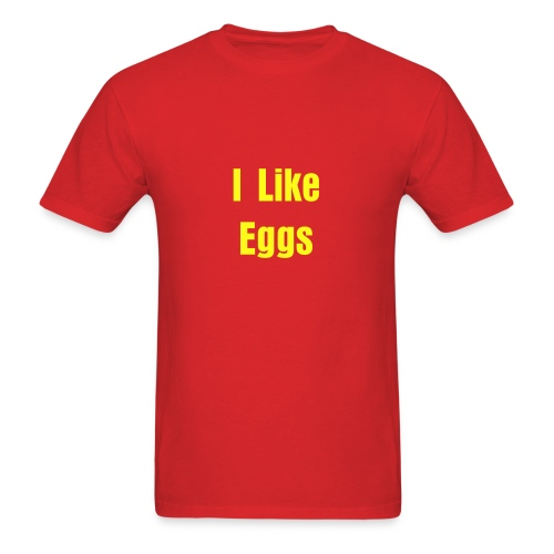 I Like Eggs - Men's T-Shirt