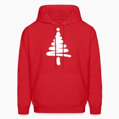 Christmas Tree Lines Hoodies