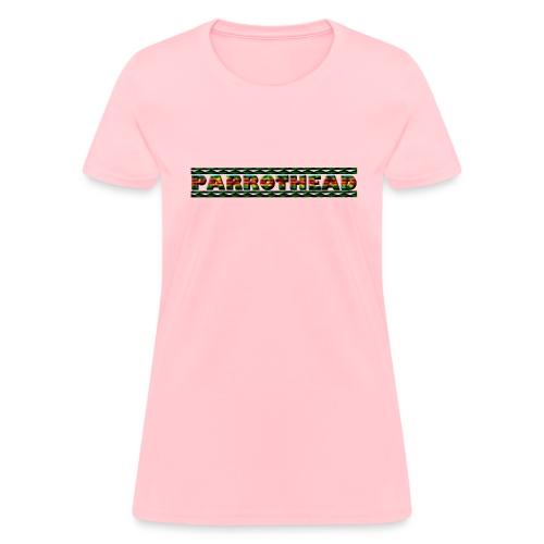 Parrothead concert T - Word  W Standard Weight - Women's T-Shirt