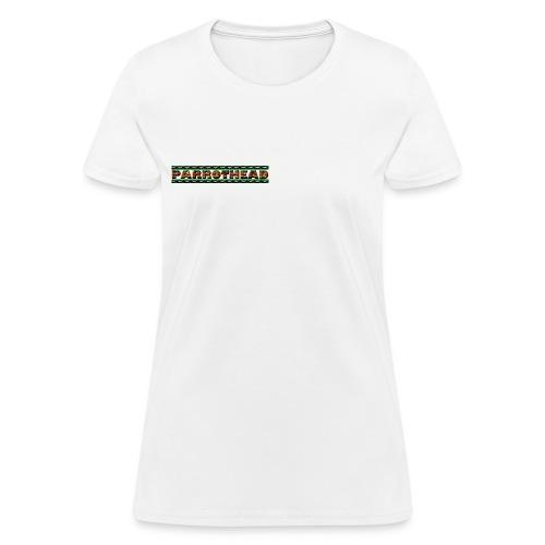 Parrothead Concert T FB Word & Logo2 W-LW  - Women's T-Shirt