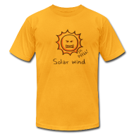 T-Shirts ~ Men's T-Shirt by American Apparel ~ Solar Wind