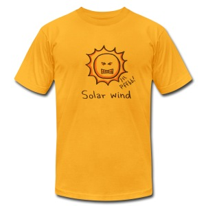 Solar Wind - Men's T-Shirt by American Apparel