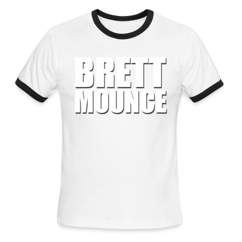 Brett Mounce Shirt 2 - Men's Ringer T-Shirt