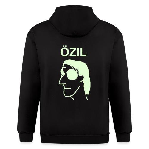 Ozil hoodie GLOW IN THE DARK EYES - Men's Zip Hoodie