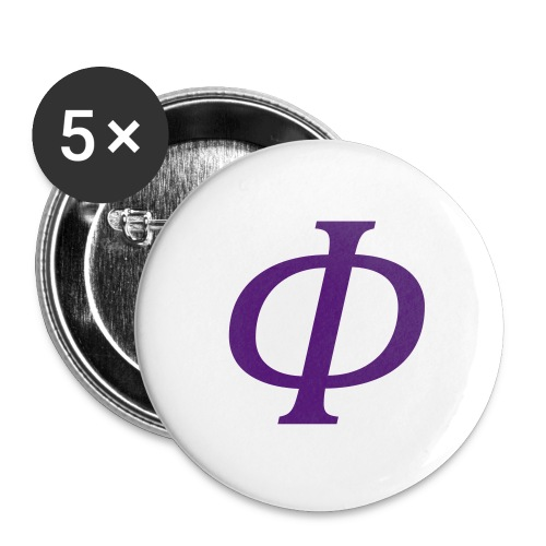 Frontier Logo Small Button 5 Pack - Small Buttons