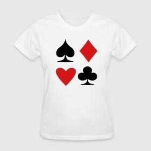 Card Suit Women's T-Shirts - Women's T-Shirt