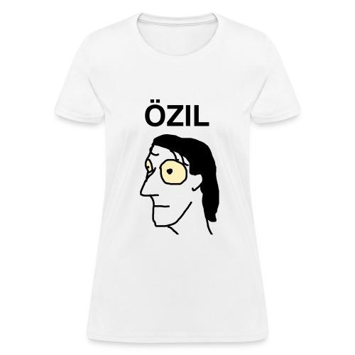 Ozil women's t-shirt GLOW IN THE DARK EYES - Women's T-Shirt