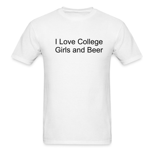 College - Men's T-Shirt