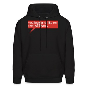 You Look A Lot Like My Next GF (Red) - Men's Hoodie