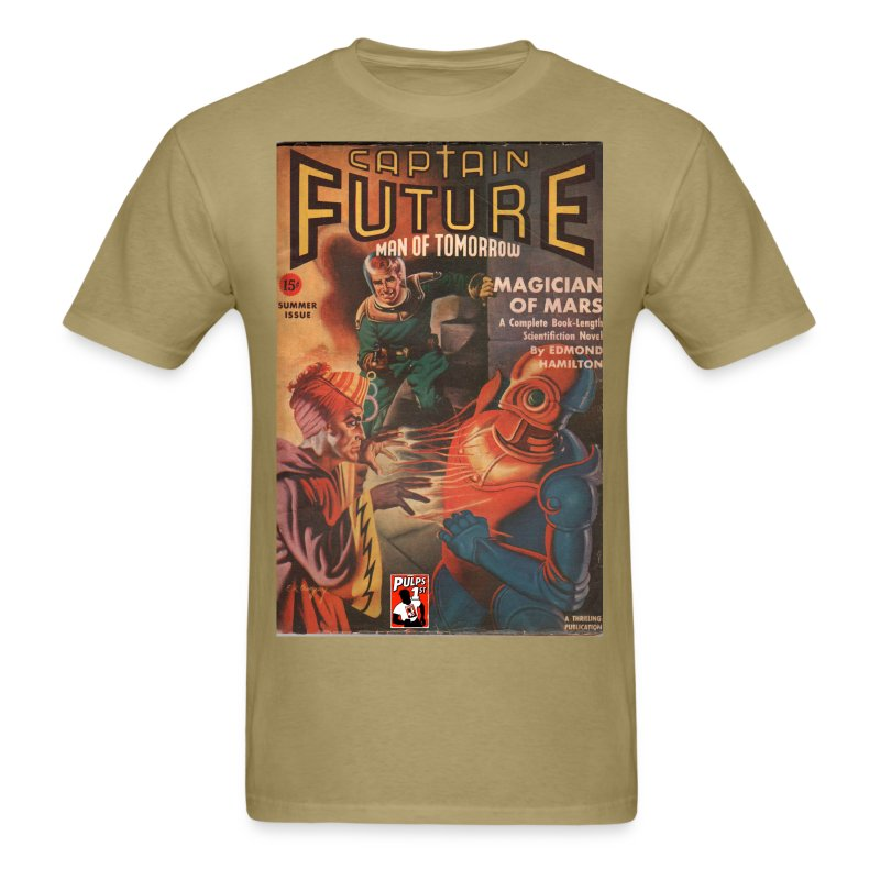 Captain Future  Sum 1041 - Men's T-Shirt
