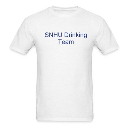 SNHU drinking team - Men's T-Shirt