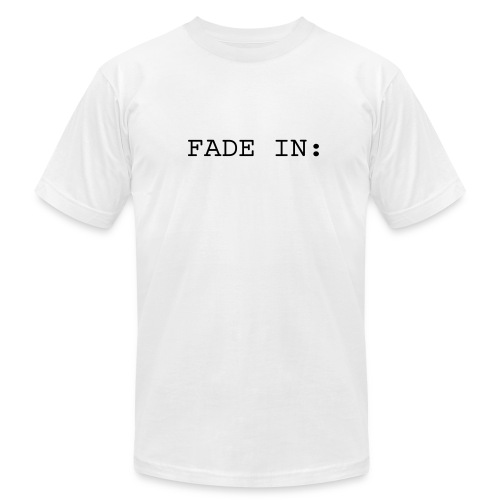 FADE IN / FADE OUT - Men's T-Shirt by American Apparel